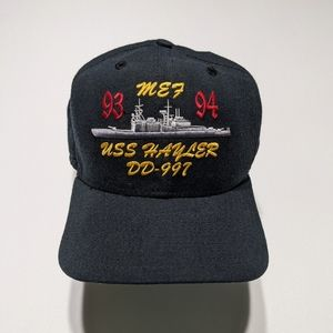 1994 USS Hayler Battleship Snapback Hat